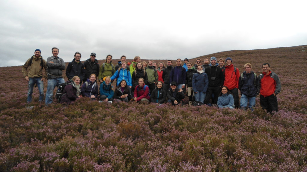 Aberdeen Catchment Science Course - Field Trip to Upper Dee Catchment